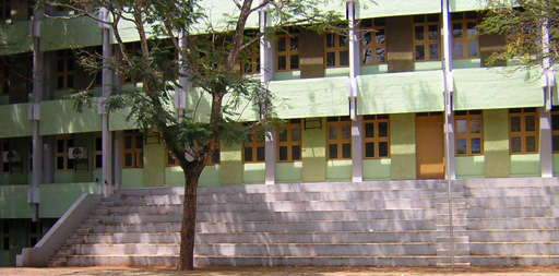Loyola School's Assembly steps