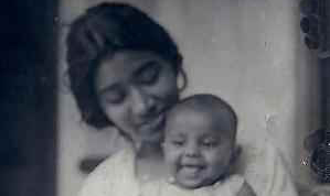 Maya Thomas with niece (c. 1936); Courtesy: josephclan.com