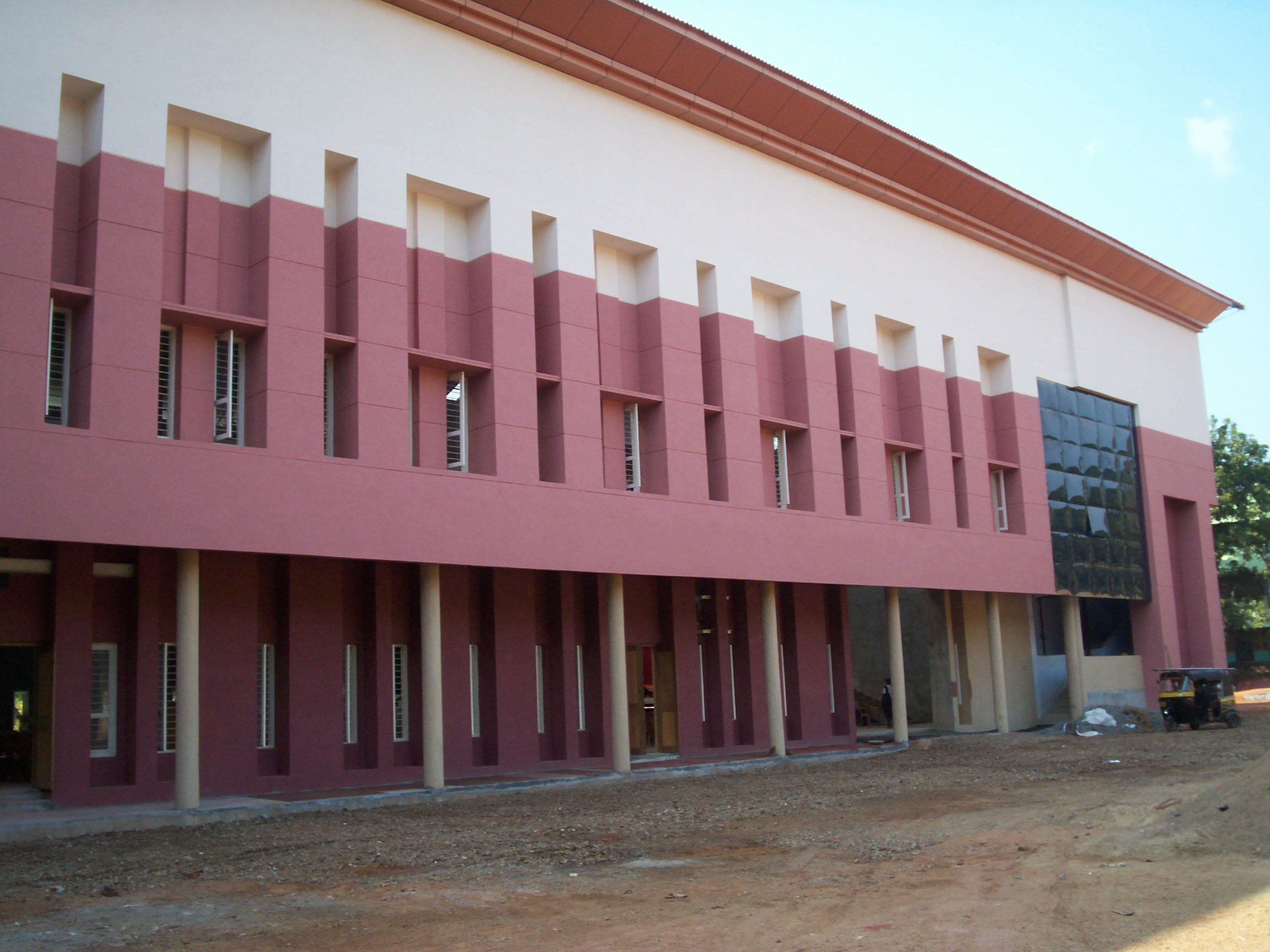 The new auditorium of Loyola School - opened 2008