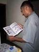 Vineeth shows me the first Phantom comic in the world